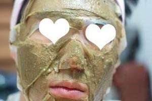 Homemade pore tightening face mask